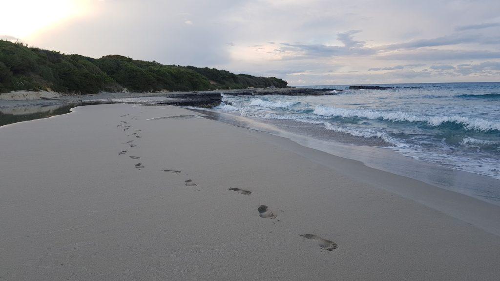 puglia tour - beach
